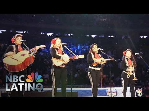 Flor De Toloache Adds A Twist To Traditional Mexican Mariachi | NBC Latino | NBC News