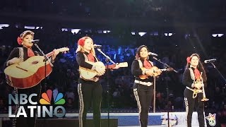 Flor De Toloache Adds A Twist To Traditional Mexican Mariachi   NBC Latino   NBC News
