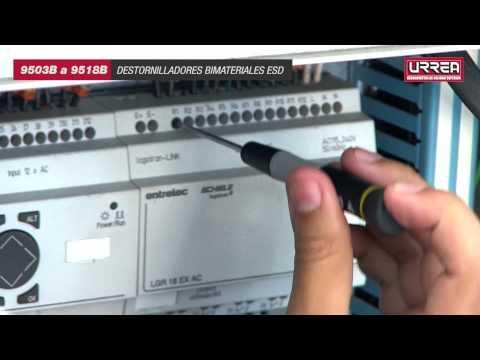 Destornilladores Bimateriales ESD Urrea URREA México