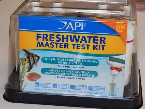 API freshwater master test kit/Review and use