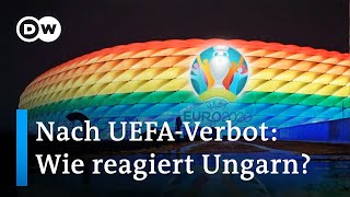 UEFA: Regenbogen ist zu politisch   DW Nachrichten