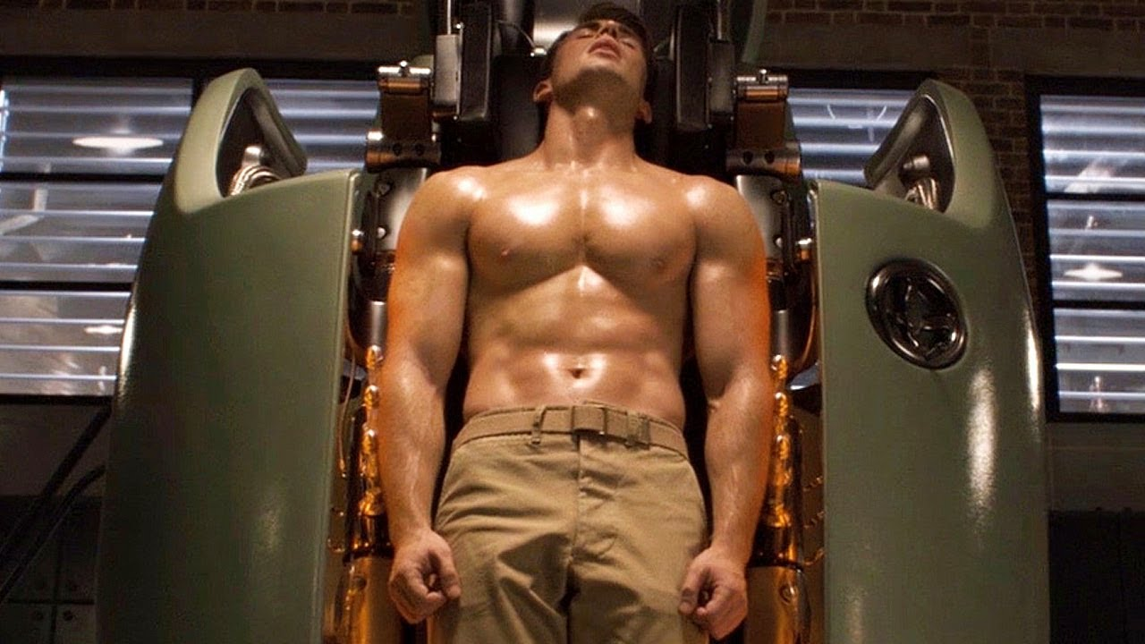 Steve Rogers Transformation Scene - Captain America: The First ...