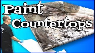 Paint Countertops with Epoxy: Behind the Scenes Training Class