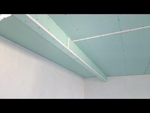 видео: гипсокартон, короб для шкафа-купе. plasterboard montaj.