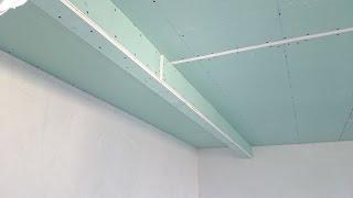 гипсокартон, короб для шкафа-купе. Plasterboard montaj.(, 2014-10-23T13:37:10.000Z)