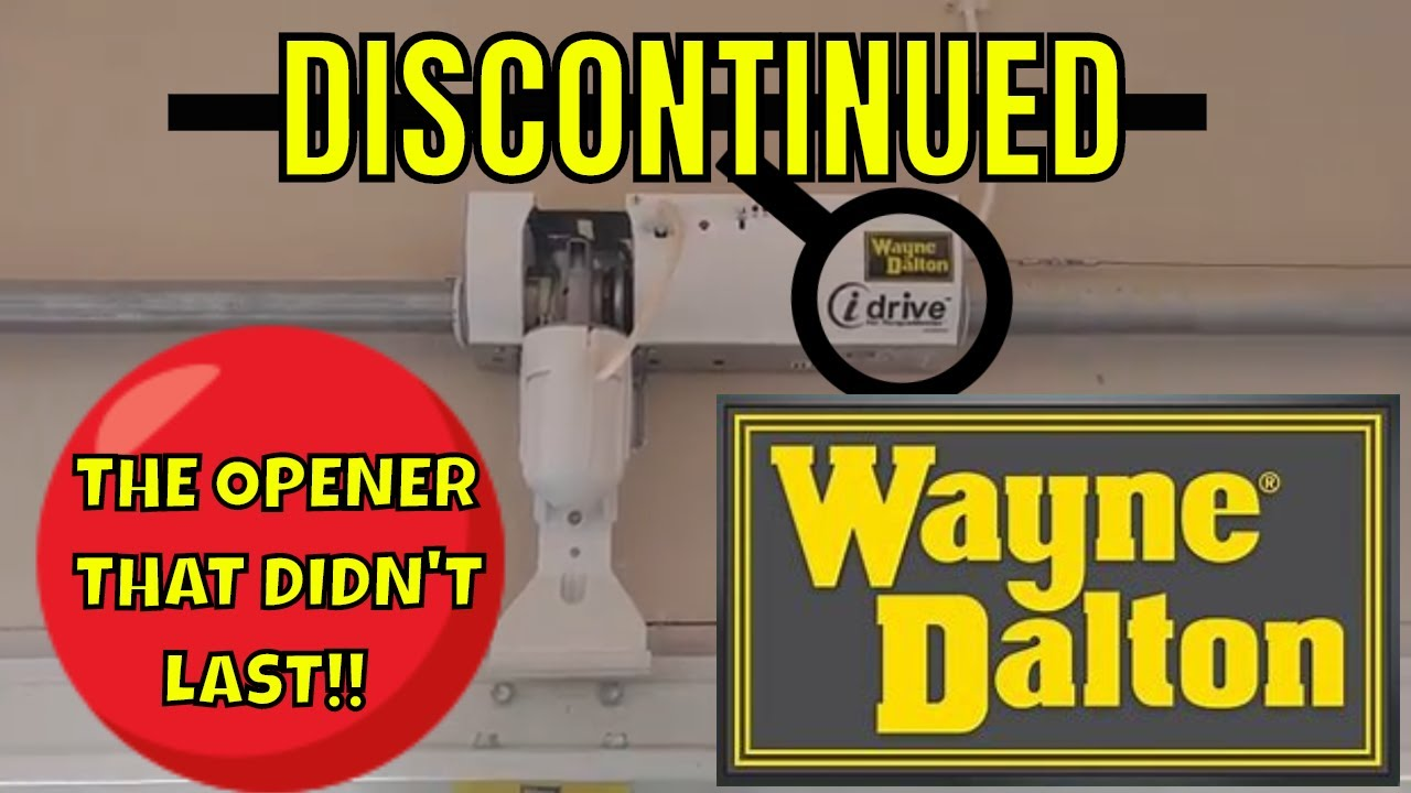 Wayne Dalton I Drive Garage Door Opener Discontinued Youtube