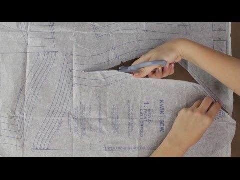 How to Cut Out Sewing Pattern Pieces - Updated