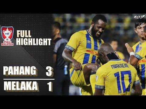 Pahang FA 3 - 1 Melaka United (Highlight HD - Piala Malaysia Suku Akhir 2 - 29/9/2019)