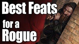 5E D&D Feats- A Rogue