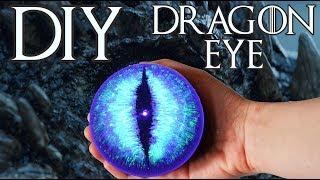 DIY Game of Thrones Viserion White Walker Dragon Eye Tutorial Decoration Night King