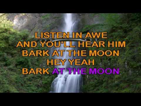 Karaoke Ozzy Osbourne - Bark At The Moon