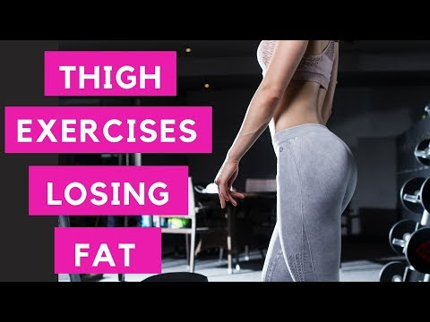 Thigh Exercises for Losing Fat l How To Do Ski Squats