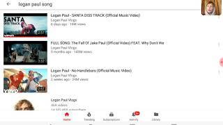 Reacting to Santa diss track from Logan paul!!!!