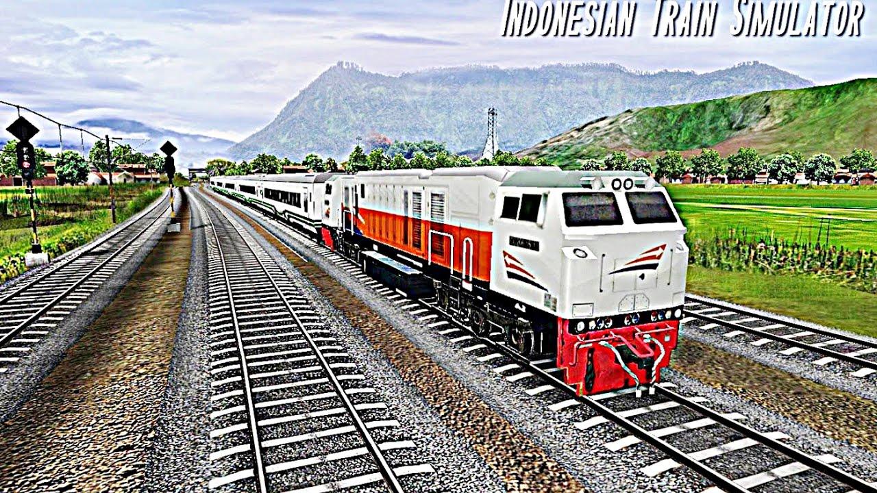 Kereta Api Simulator Indonesia