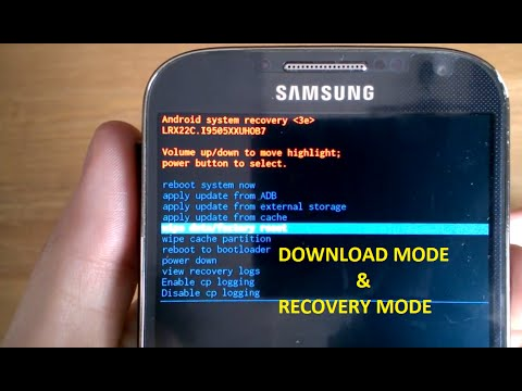 Download Mode Recovery Mode, Data Wipe, Factory Reset ...