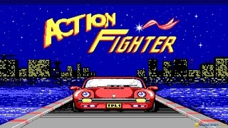 Action Fighter gameplay (PC Game, 1986)