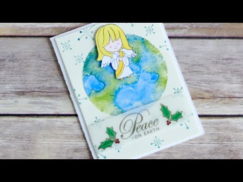 Days Of Christmas Series Day Peace On Earth Card