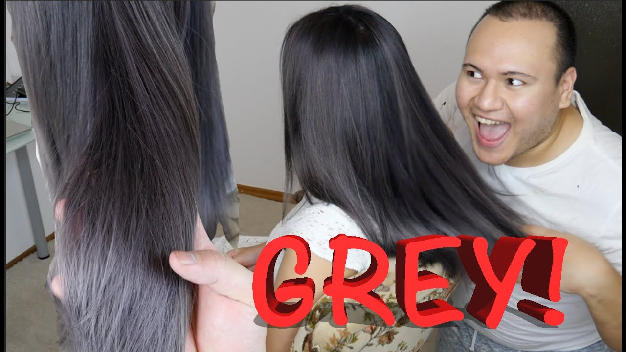 Graphit Graue Haare Makeover Youtube