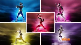 "Power Rangers Ninja Steel - First Power Rangers Team Morph   Episode 2 ""Forged in Steel"""