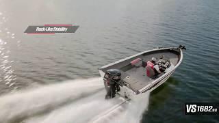 Ranger Aluminum VS1682SC On Water Footage