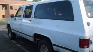1990 Chevrolet Suburban Start Up, Exhaust, Engine & Full Tour