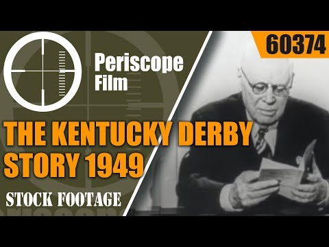 THE KENTUCKY DERBY STORY   1949  75th ANNIVERSARY FILM  60374