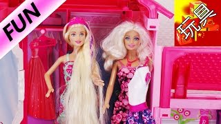 Barbie 芭比 娃娃 Story 电影 全自动 梦想屋 朋友 聚会 下午茶 甜点 奶油 蛋糕 展示