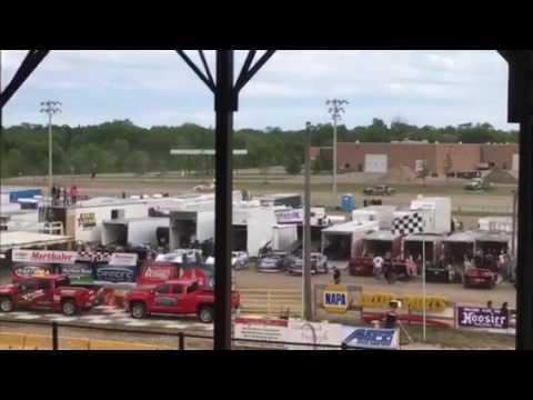 7W Purestock Heat 5-27-17 Viking Speedway part 1