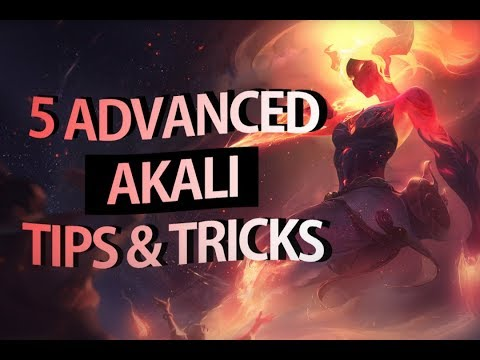 5 Advanced Akali Tips & Tricks - S8 Reworked Akali Guide | League Of Legends