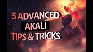 5 Advanced Akali Tips & Tricks - S8 Reworked Akali Guide   League Of Legends