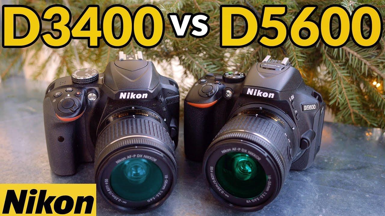 Nikon D5600 vs Nikon D3400 - Which is the Best Cheap DSLR 2017?