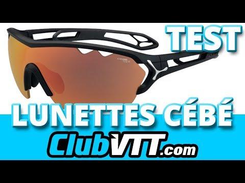 Cébé : les lunettes S'TRACK MONO CEBE - 322