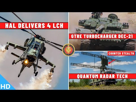 Indian Defence Updates : 4 LCH Delivered,AK-203 Royalty Issu
