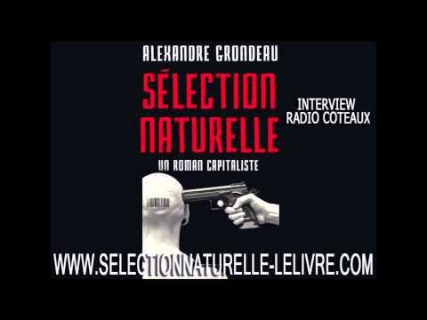 Selection naturelle un roman capitaliste sur Radio Coteaux