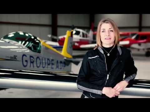 Le Groupe ADP soutient Aude Lemordant, championne du monde de voltige aérienne