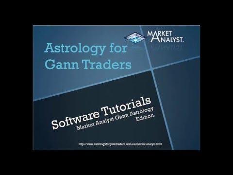 Market Analyst Gann Astro Tools- Introduction.