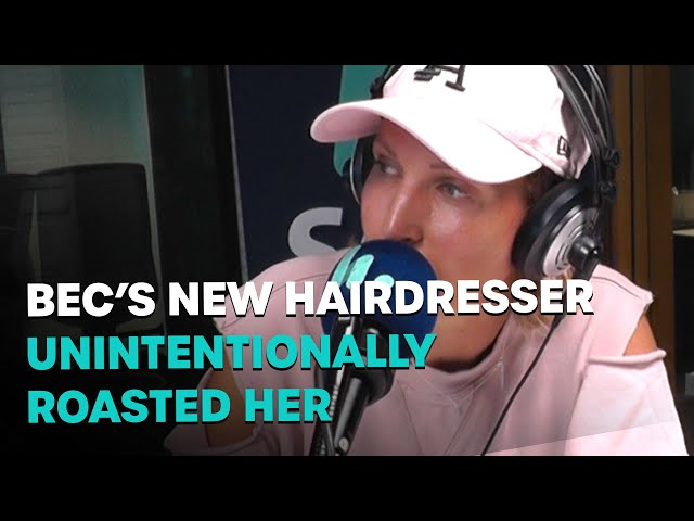 Bec's New Hairdresser Unintentionally Roasted Her | Bec Cosi and Lehmo
