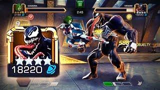 marvel contest of champions aq 5 venom boss fight monster s lair