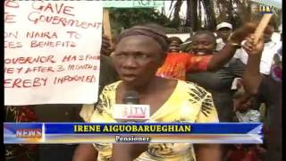 Pensioners protest over non-payment of entitlements spanning 42 months