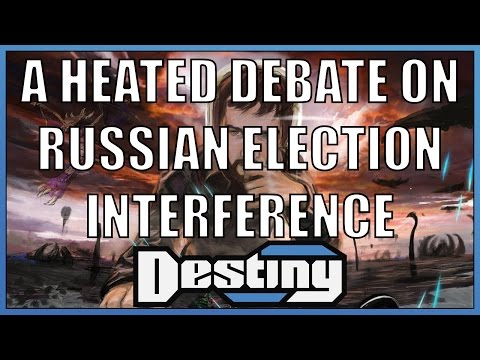 A heated debate on Russian interference in the US 2016 presidential election