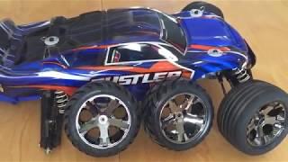 Traxxas Rustler VXL on some NEW Anaconda Tires