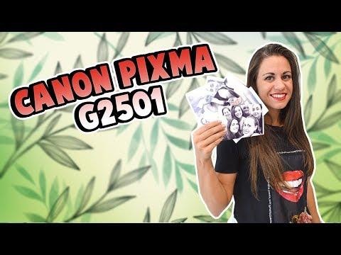 Impresora Multifunción Canon Pixma G2501 Con Tintas Recargables - Review