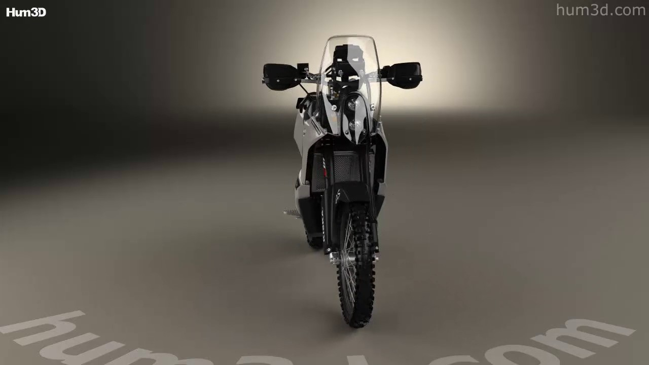 KTM 690 Enduro Rally Kit 2016 3D model by Hum3D com