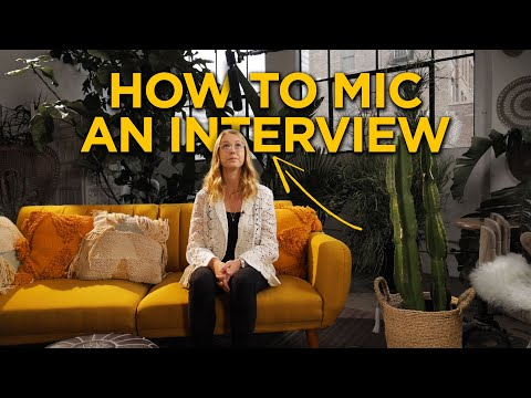 How To Record An Interview | Getting Great Audio On A Budget