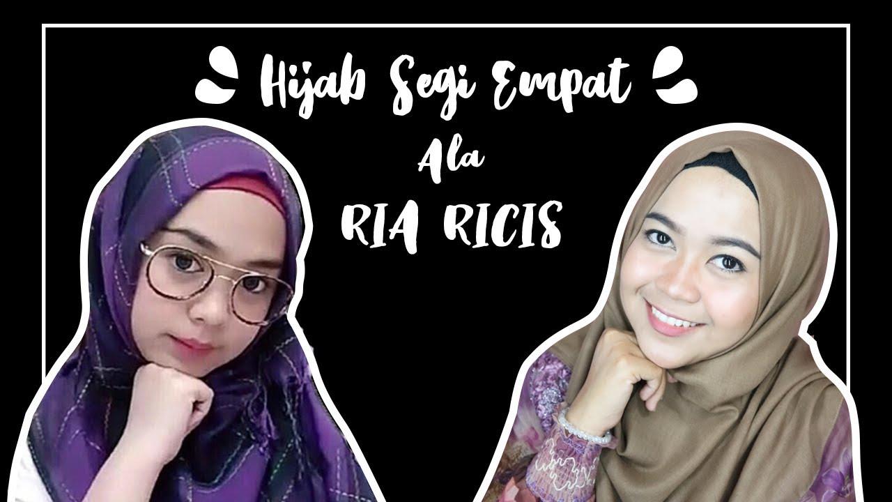 Tutorial Hijab Segi Empat Ala Laudya Cynthia Bella Jilbab Bella Square Dian Retno Youtube