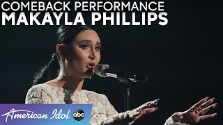 "Emotional! Makayla Phillips Delivers Powerful ""Anyone"" Performance - American Idol 2021"