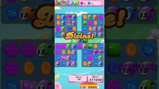 Candy Crush Saga Level 615 - NO BOOSTERS