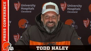 Todd Haley: Our run game is very important | Cleveland Browns