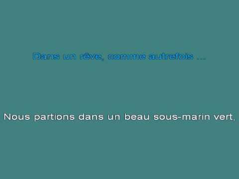 Le Sous Marin Vert [karaoke]