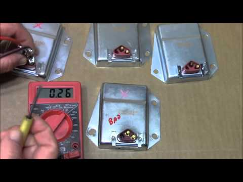 How To Test the C8313 Voltage Regulator use on Chrysler, Dodge, Jeep By-Pass kit